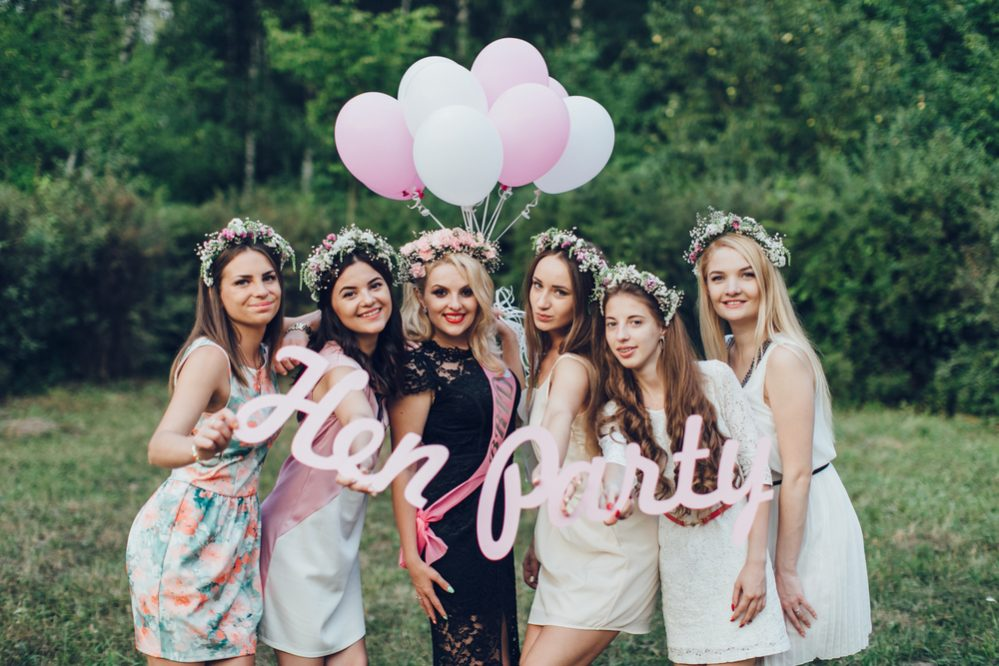 rite of passage hen party
